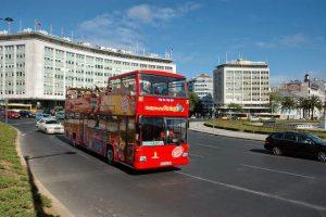 Paseo en el ómnibus turístico por Lisboa