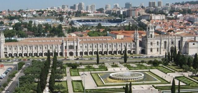 Mosteiro de Jerónimos en Lisboa