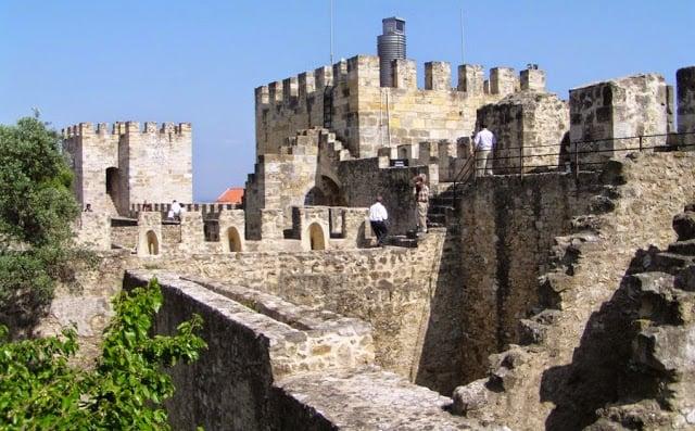 Entradas al Castelo de São Jorge en Lisboa