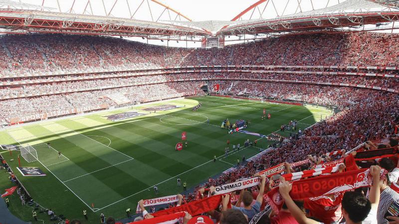Partido en el Estadio da Luz - Lisboa