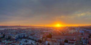 Otoño en Lisboa- atardecer