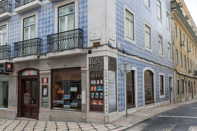 Librería Bertrand en el Chiado