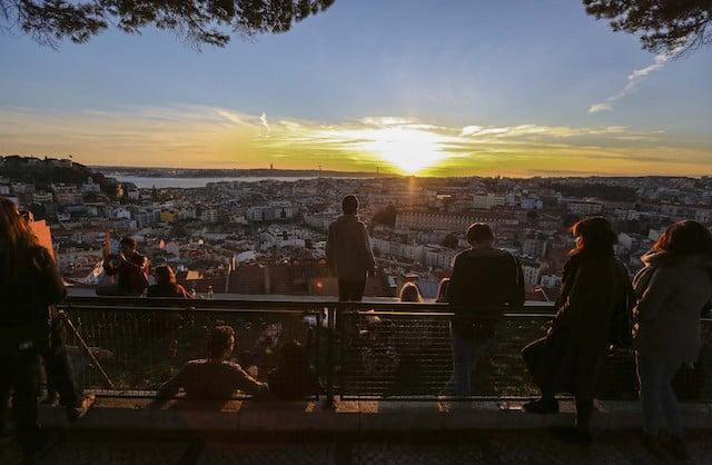 Mirador de la Senhora do Monte en Lisboa