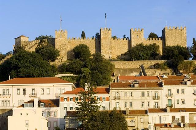 Castelo de São Jorge en Lisboa