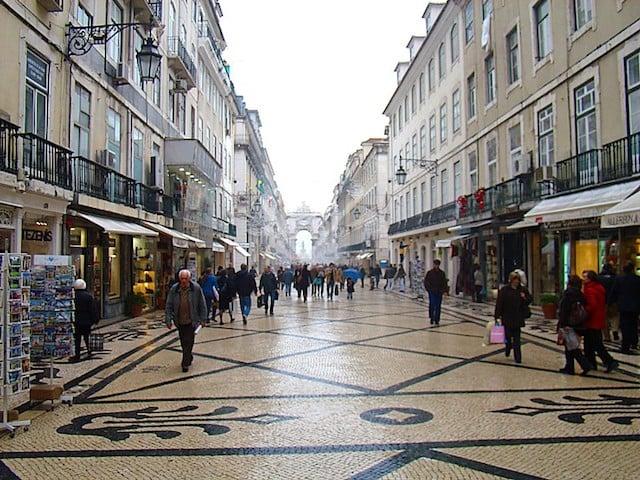 Lisboa en Enero