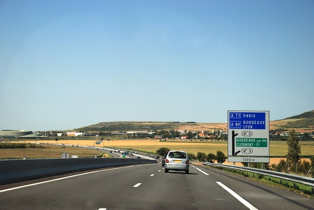 Viaje en auto de Lisboa a París