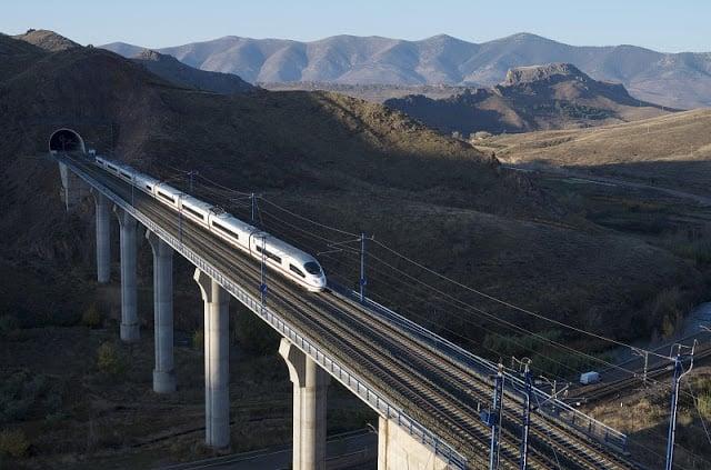Viaje en tren por Portugal