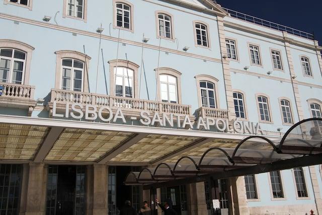 Estación Santa Apolónia en Lisboa