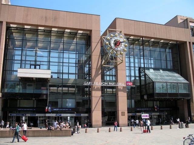Estación Part Dieu de Lyon