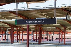 Estación Madrid Chamartín