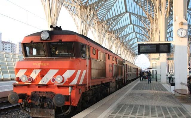 Como andar en tren en Lisboa y Portugal