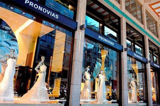 Tienda Pronovias en Lisboa