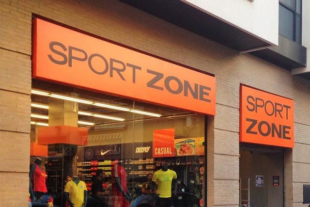 Tienda Sport Zone en Lisboa