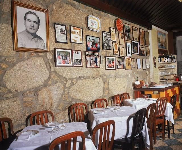Restaurante Casa Aleixo en Oporto