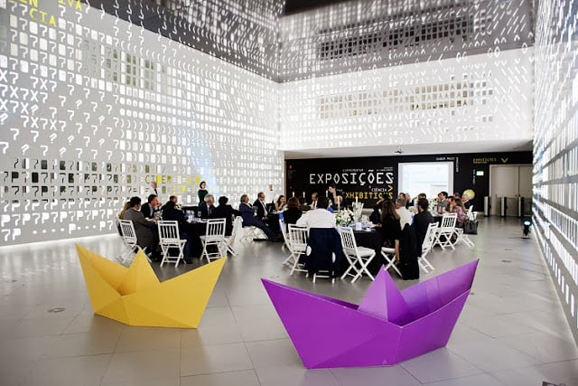 Exposiciones en el Pavilhão do Conhecimento en Lisboa