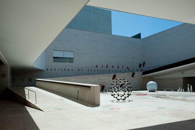Pavilhão do Conhecimento y Ciência Viva en Lisboa