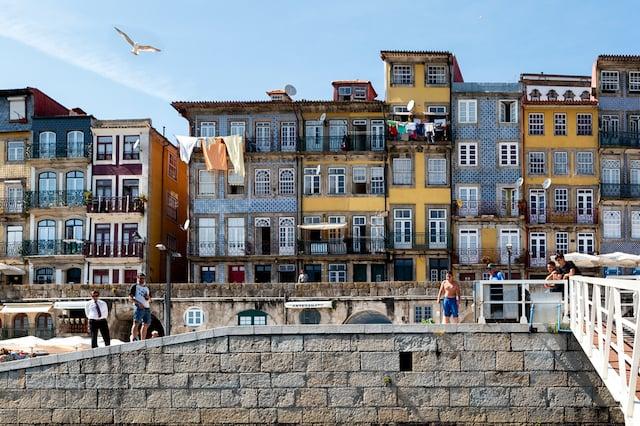 Centro histórico en Oporto