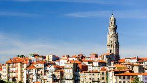 Torre Clérigos en Oporto