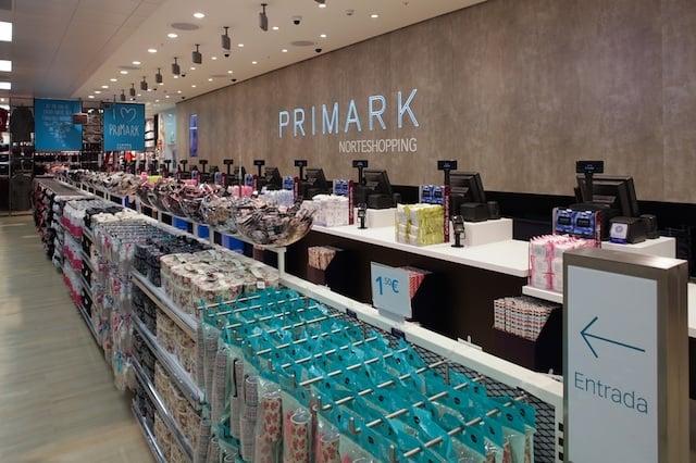 Tienda Primark en Oporto