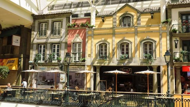 Shopping Via Catarina en Oporto