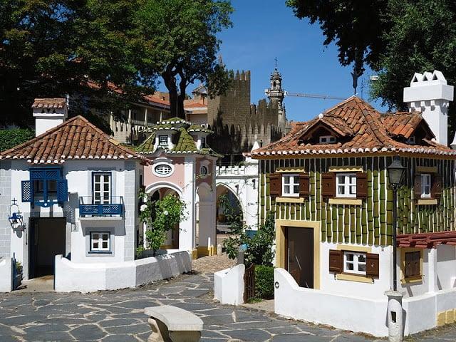 Portugal dos Pequeninos (Portugal de los Pequeñitos) en Coimbra