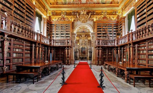 Biblioteca Joanina en Coimbra