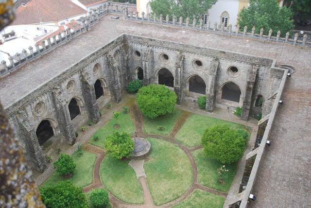 Patio Universidad de Coimbra