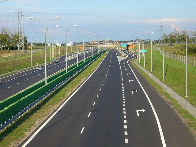 Carretera en Portugal