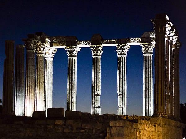 Información del Templo de Diana