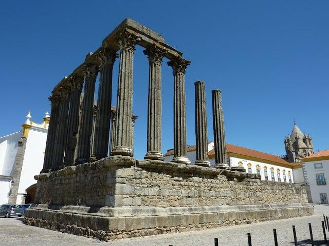 Templo de Diana en Évora