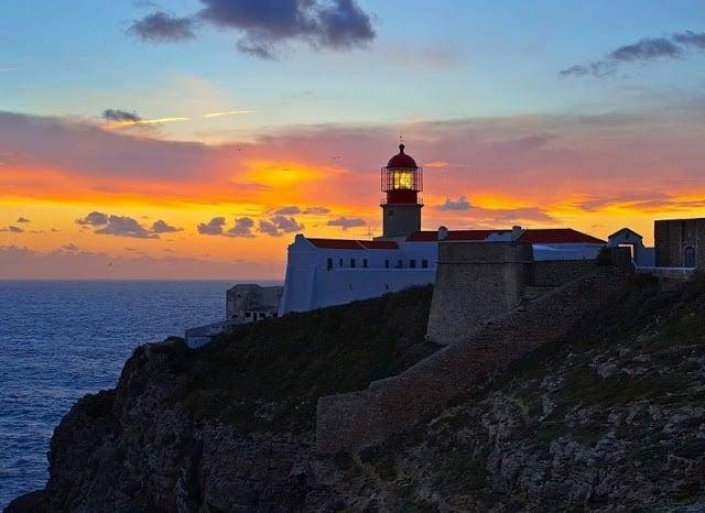 Cabo de São Vicente (Cabo de San Vicente) en Algarve