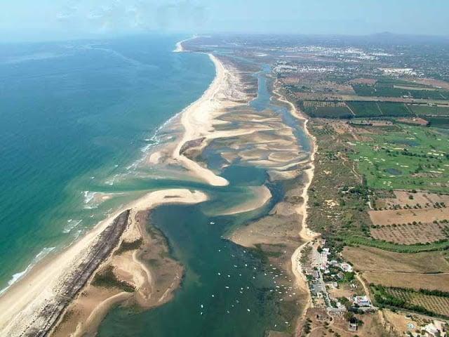 Ria Formosa en Algarve