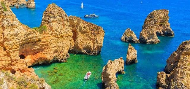 Playa Rocha en Algarve