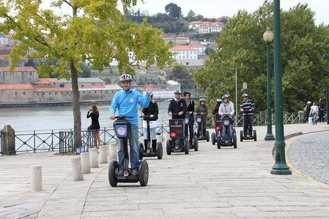 Paseo Segway por el Douro