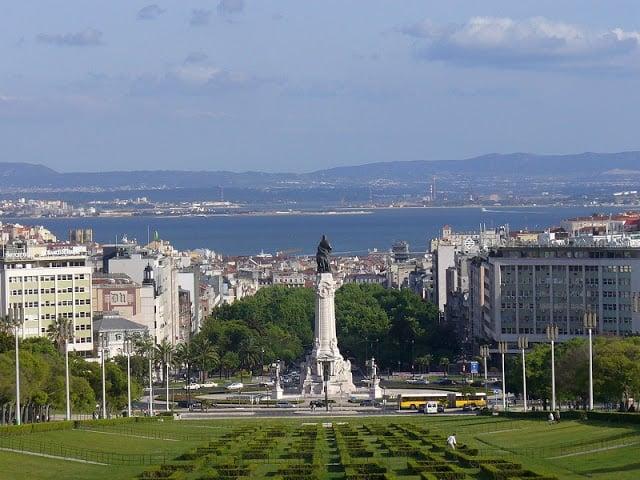 Barrio Príncipe Real en Lisboa