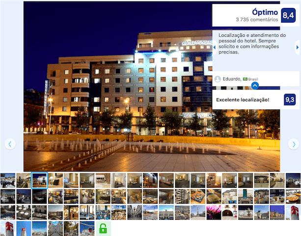 Hotel Mundial en Lisboa