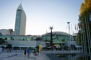 ShoppingCenter Vasco da Gama en Lisboa - entrada