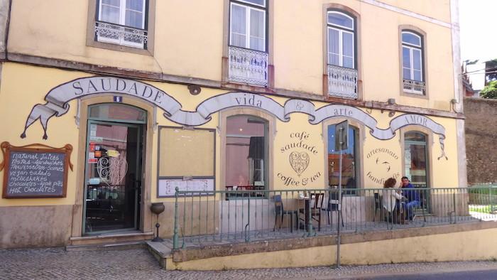 Café Saudade en Sintra