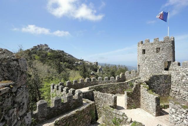 Castelo dos Mouros (Castillo de los Moros) en Sintra