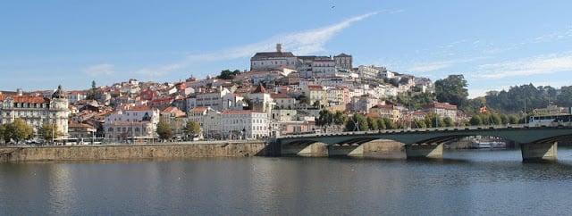 Clima y temperatura en Coimbra