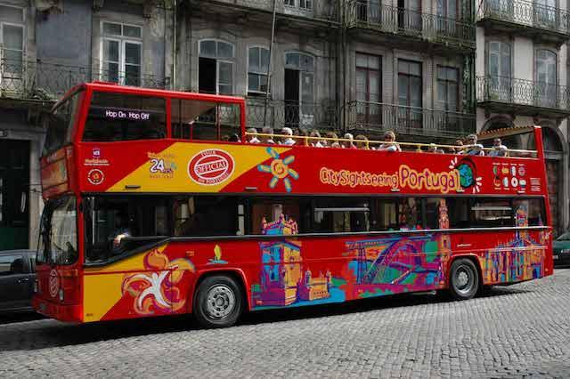 Paseo en autobús turístico por Oporto