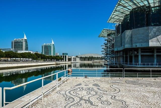 Oceanário de Lisboa en el Parque das Nações (Parque de las Naciones)