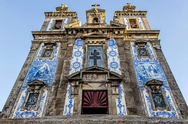 Iglesia de Santo Ildefonso en Oporto