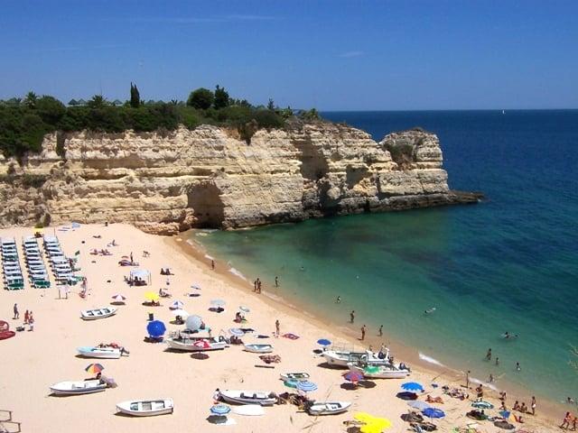Playa de Armação da Pêra en Algarve