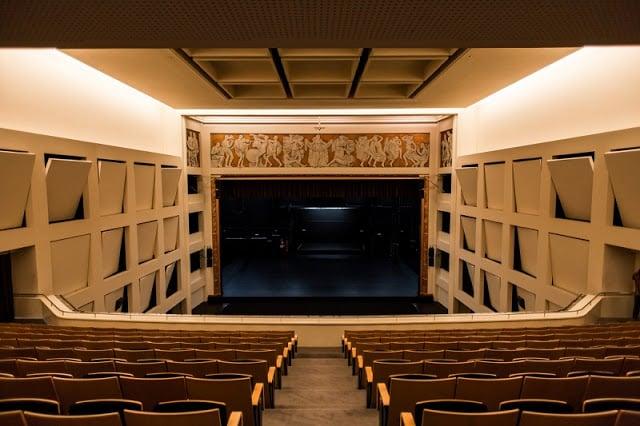 Sala del Teatro Rivoli en Oporto