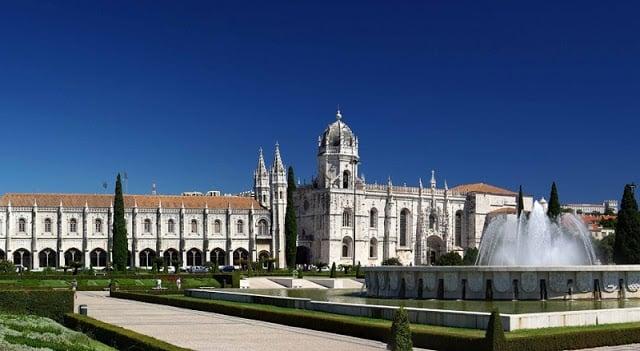 Mosteiro dos Jerónimos (Monasterio de los Jerónimos) en Lisboa