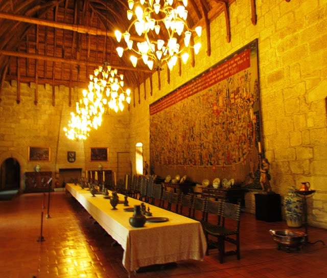 Una de las salas del Paço dos Duques