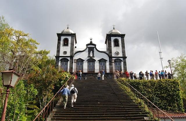 Iglesia de Nuestra Señora do Monte en la Isla de Madeira