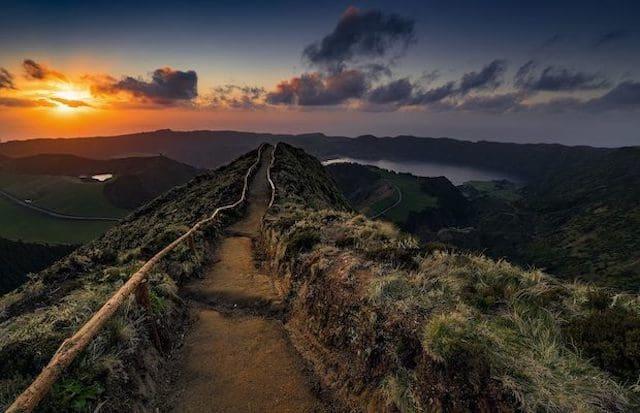 Mirante Vista do Rei de Caldeira das Sete Cidades en las Azores