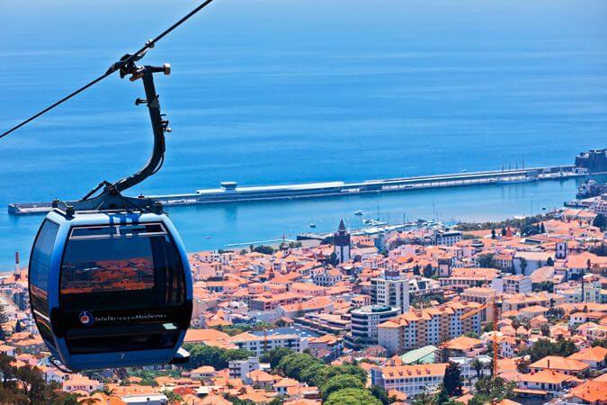 Teleférico do Monte en la Isla de Madeira